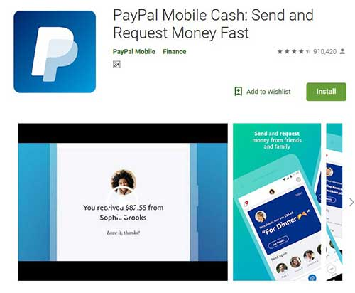 paypal is second best app for payments