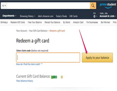 redeem free amazon gift cards